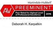 Martindale Rating